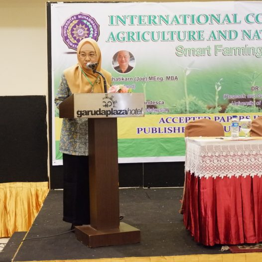 Seminar International Conference On Sustainable Agriculture And Natural Resources Management (Smart Farming For Sustainable Agriculture)
